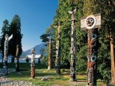 Totempalen in Canada