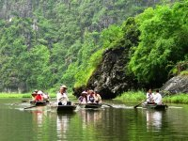 Roeien in het prachtige Vietnam