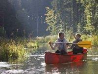 Met de kano door het prachtige park