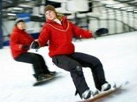 In zomer en winter snowboarden bij de Kempervennen