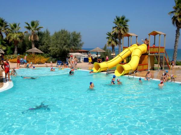 Zwembad bij Camping Internazionale Manacore