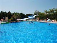 Het zwembad van Camping Tucan