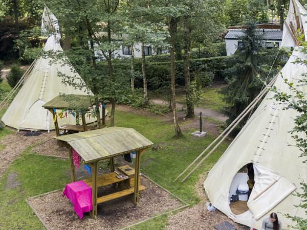 tipitent op camping de jutberg