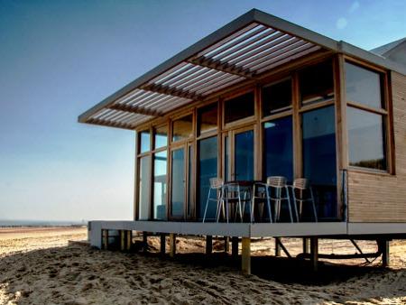 Strandhuisje Molecaten Hoogduin