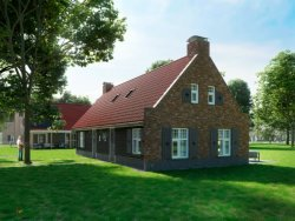 Artist impression van een huisje van Landal Kaatsheuvel