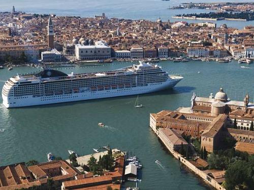 msc cruises bij Venetie