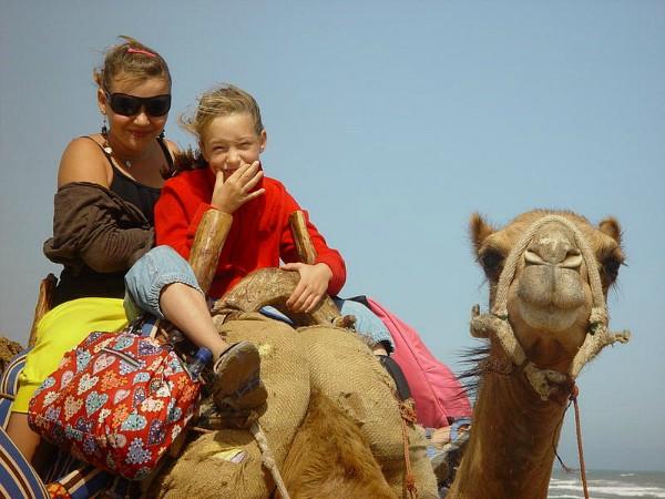 rijden op een kameel