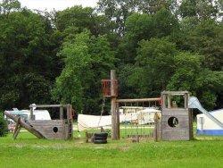 Speeltuintje bij Camping Ellwangen