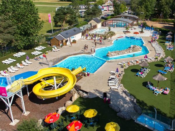 Alle Siblu vakantieparken hebben een mooi zwembadcomplex