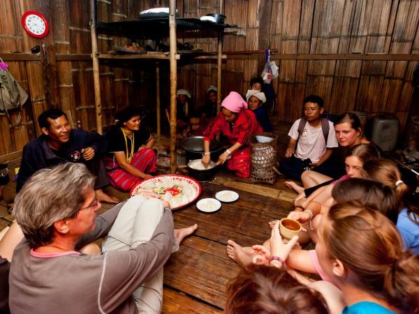 Op bezoek bij de locals in Thailand