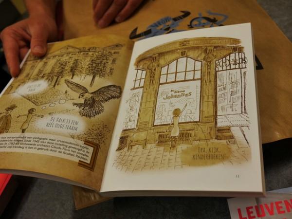 Het boekje Leuven in Vogelvlucht