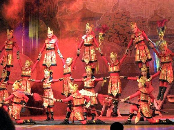Chinese acrobatiek