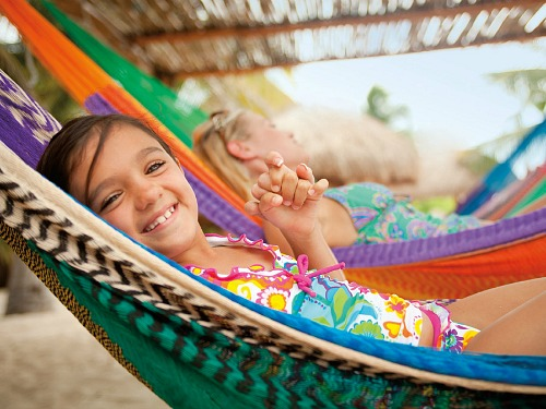 lekker relaxen op een tropisch eiland