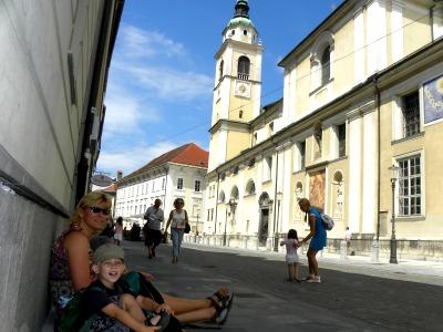 Even pauze in Ljubljana
