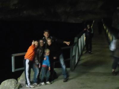 In de grotten van Han