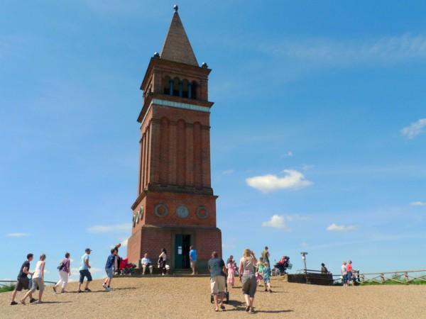 De toren boven op Himmelbjerget