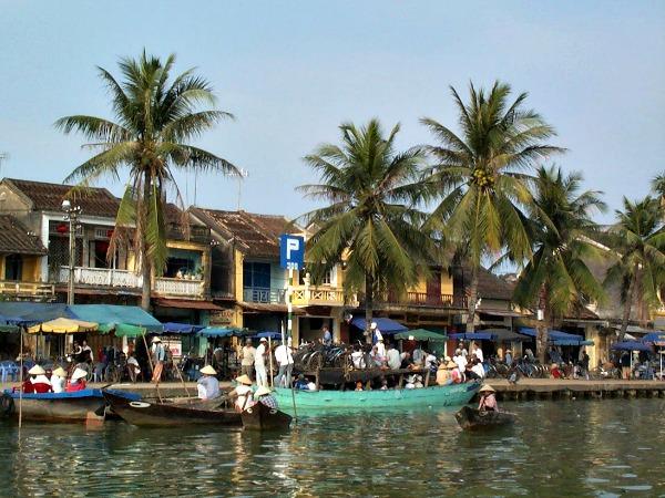 Het relaxte stadje Hoi An aan de rivier