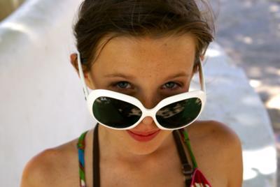 Op het strand van Ibiza
