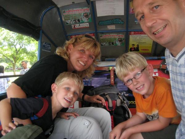 Met de kids op reis in Thailand