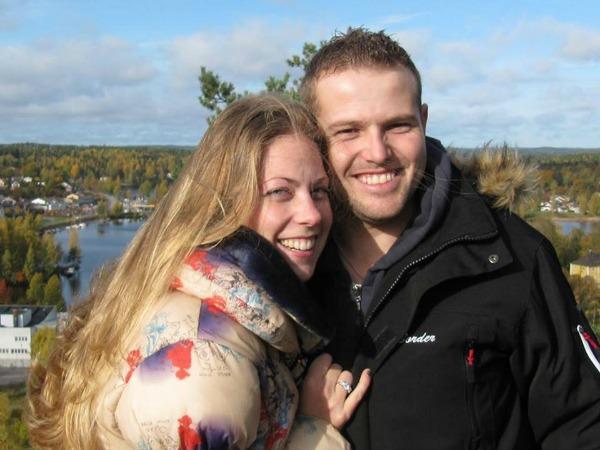 Nathalie en Jonathan van Jonature