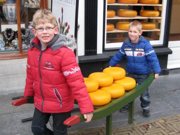 Echt Nederlands: kaas dragen