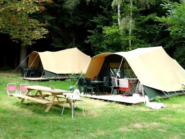 De kampeertenten van Tentocamp