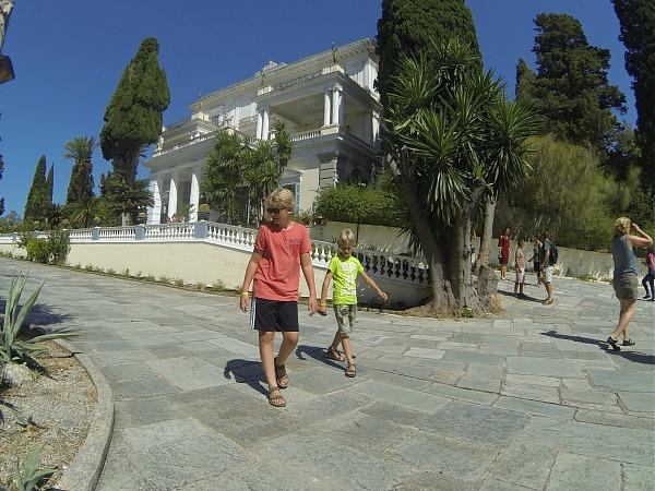 Achilleion, het paleis van Sissi