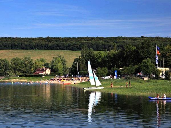 Lac de Panthier in de Bourgogne