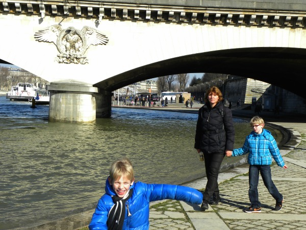 Plezier langs de Seine in Parijs