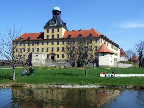 Kasteek Moritzburg in Zeitz