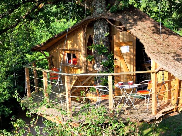 Een leuke boomhut in de Limousin in Frankrijk
