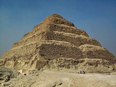 De Trap-piramide van Saqqara