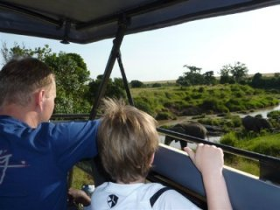 Spannend, zo'n safari met kinderen