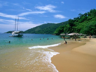 Strand van Ilha Grande
