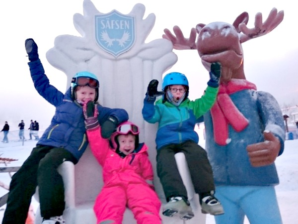 Superleuke wintersport in Zweden
