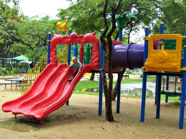 Speeltuin in Bangkok