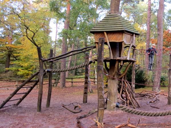 Speeltuin in Nationaal Park de Hoge Veluwe