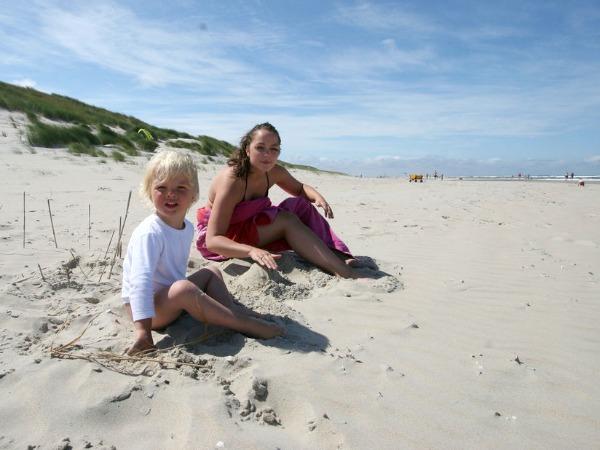 Genieten op het prachtige strand van Vlieland