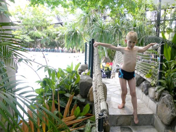 Center Parcs staat bekend om zijn mooie subtropische zwemparadijzen, de Aqua Mundo's