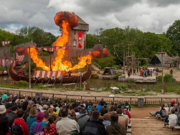 Spectaculaire Viking-show bij Puy du Fou