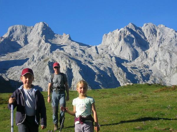 Wandeling in de Picos de Europa in Asturië