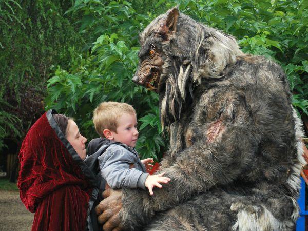 Knuffelen met een weerwolf in Le Bournat