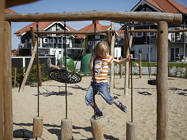 Speeltuin bij Bogense Strand