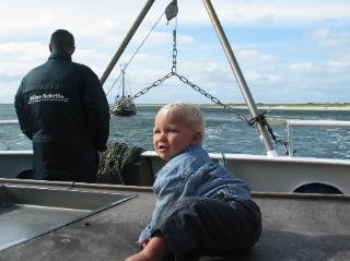 Op de boot voor een zeehondensafari