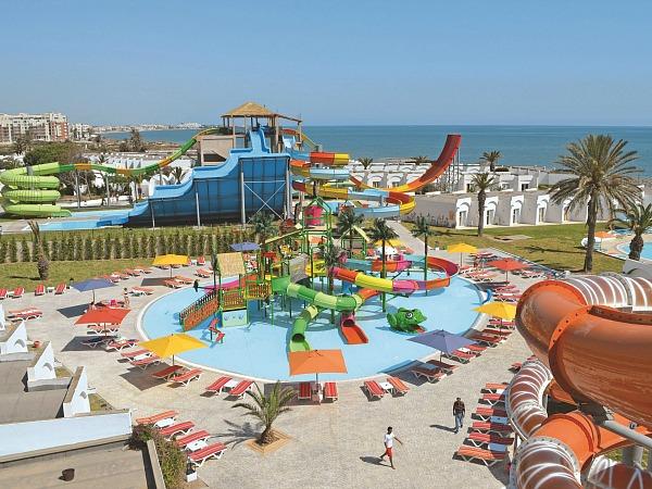 Splashworld hotel met aquapark