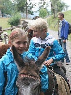 Tycho mag ezeltje rijden