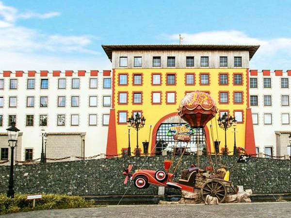 Het Avonturen hotel van Heide-Park