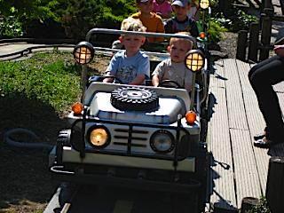 Autootje rijden in Wunderland Kalkar