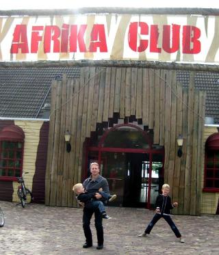 De restaurants vind je in de Afrika Club van Beekse Bergen