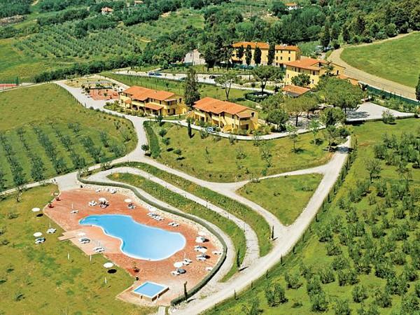 Agriturismo Belmonte Vacanze luchtfoto van het terrein